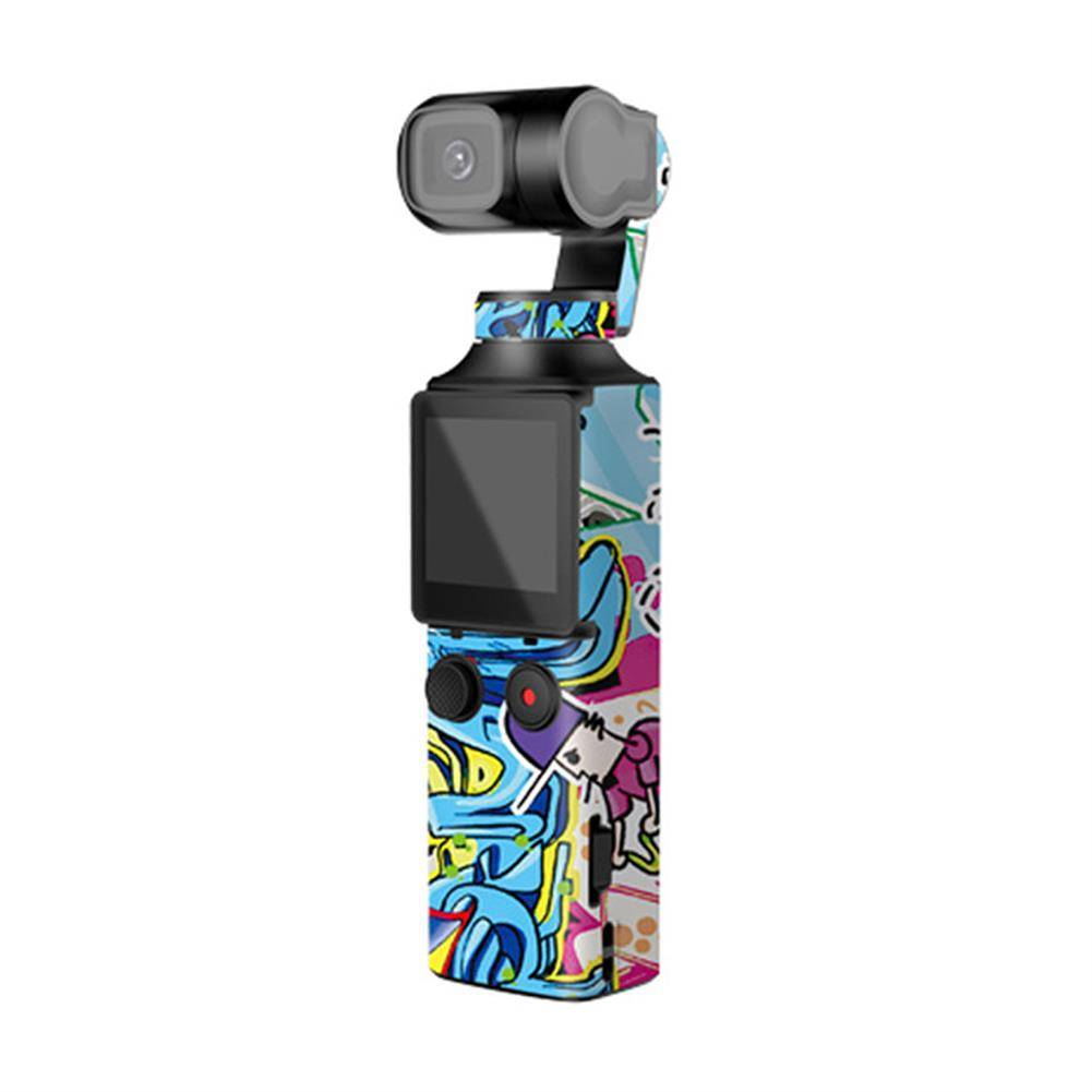 fpv-system Sunnylife PVC Decals Stickers Colorful Camouflage Skin Stickers for FIMI PALM Pocket Handheld Gimbal Camera HOB1674829 3
