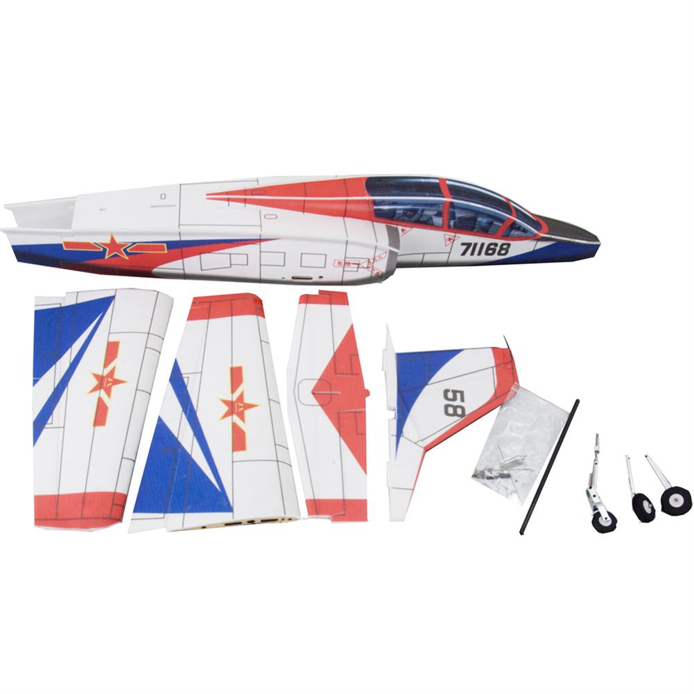 rc-airplane K8 5mm PP 980mm Wingspan RC Airplane EDF RC Plane Jet Fixed-wing KIT HOB1674860 1