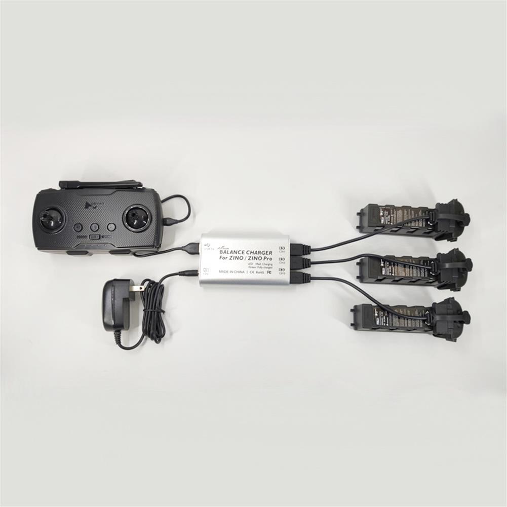 rc-quadcopter-parts FSUN Balance Charger Charging Hub for Hubsan ZINO/ZINO PRO RC Quadcopter HOB1675473 2