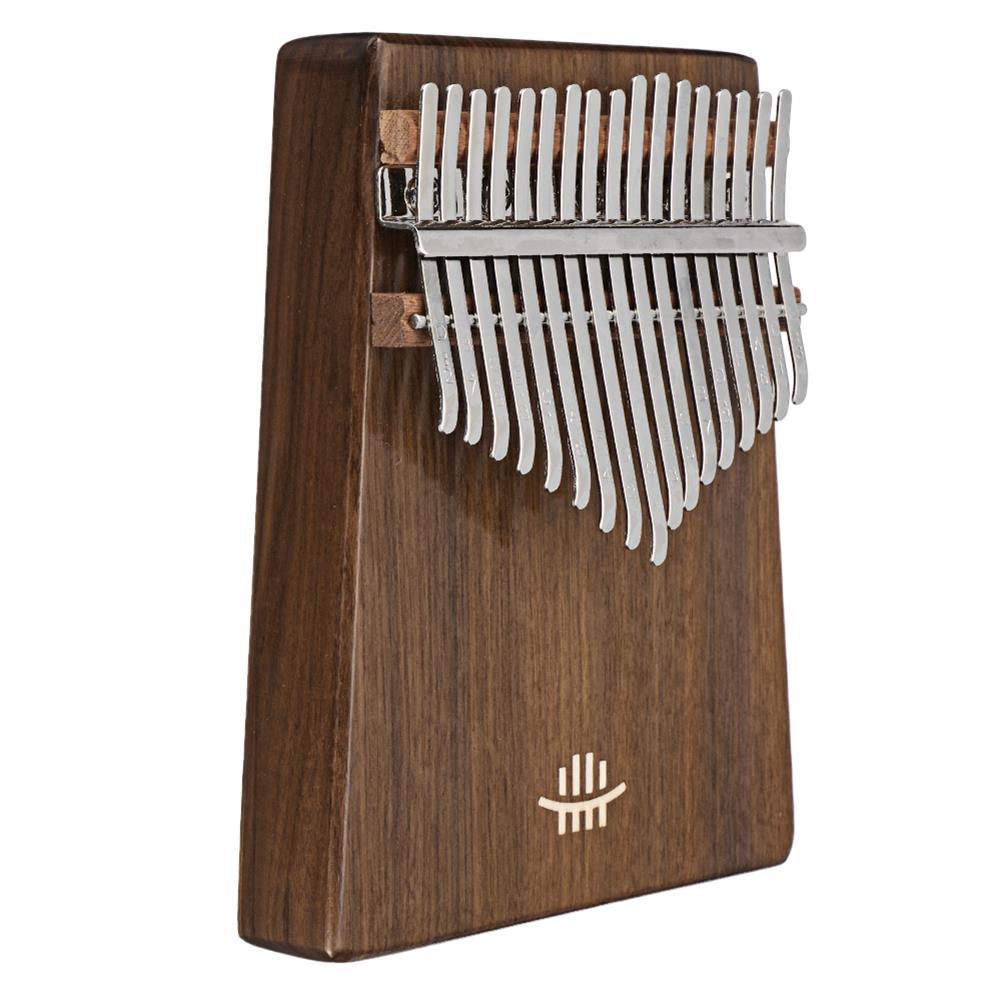 kalimba HLURU 17 Keys Wood Kalimba Bottom Hole Style Mahogany Thumb Piano Musical instrument for Beginner HOB1675646 3