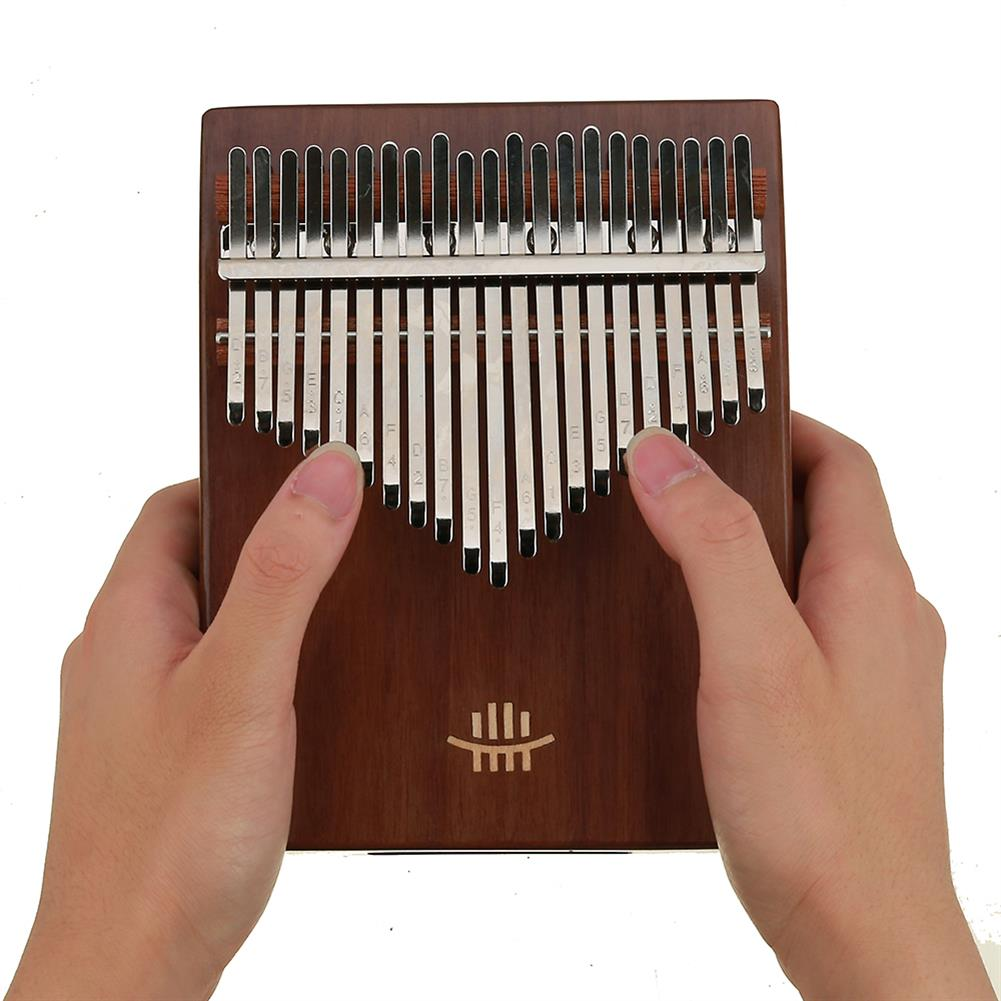 kalimba HLURU 21 Keys Thumb Piano Wooden Professional Kalimba Bottom Hole Mahogany Musical instrument for Beginner HOB1675677