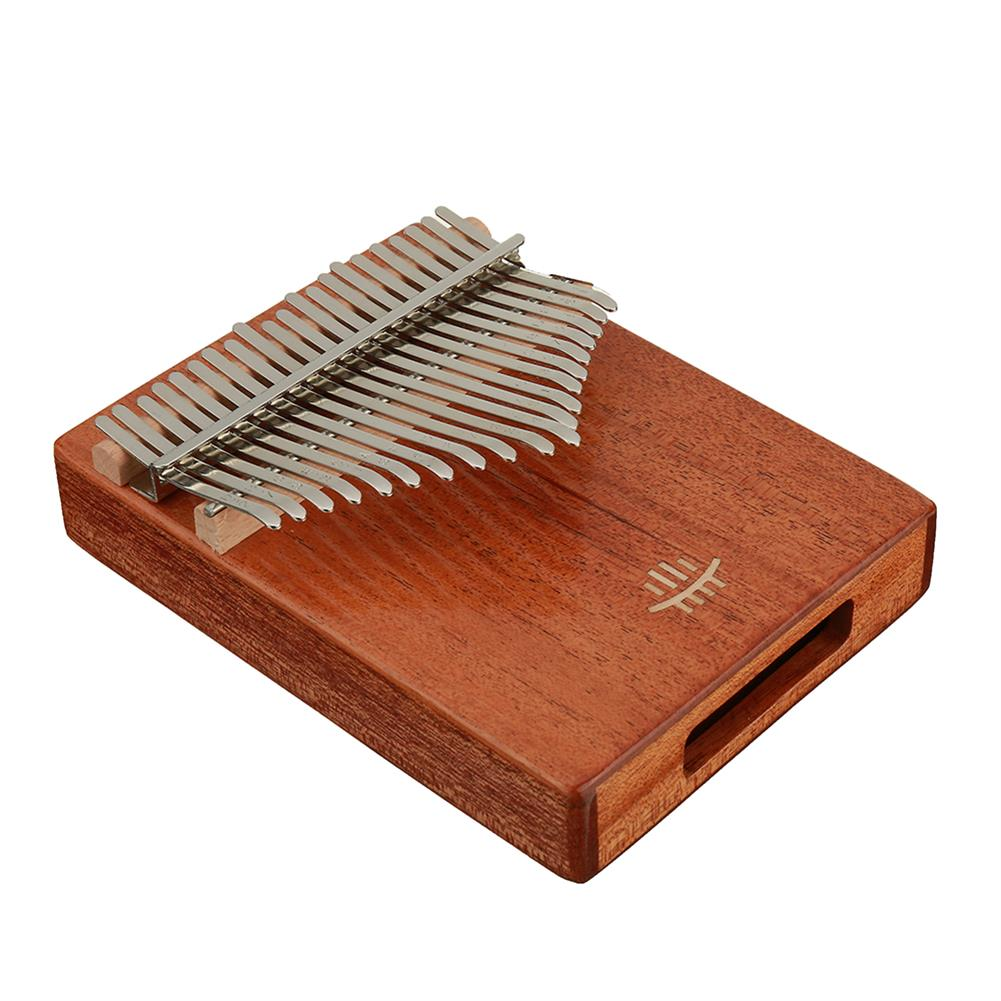 kalimba HLURU 21 Keys Thumb Piano Wooden Professional Kalimba Bottom Hole Mahogany Musical instrument for Beginner HOB1675677 2