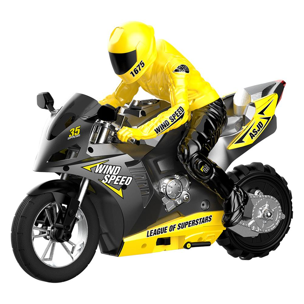 rc-motorcycle-rc-vehicles HC-801 2.4G 35CM RC Motorcycle Stunt Car Vehicle Models RTR High Speed 20km/h 210min Use Time HOB1676132 1