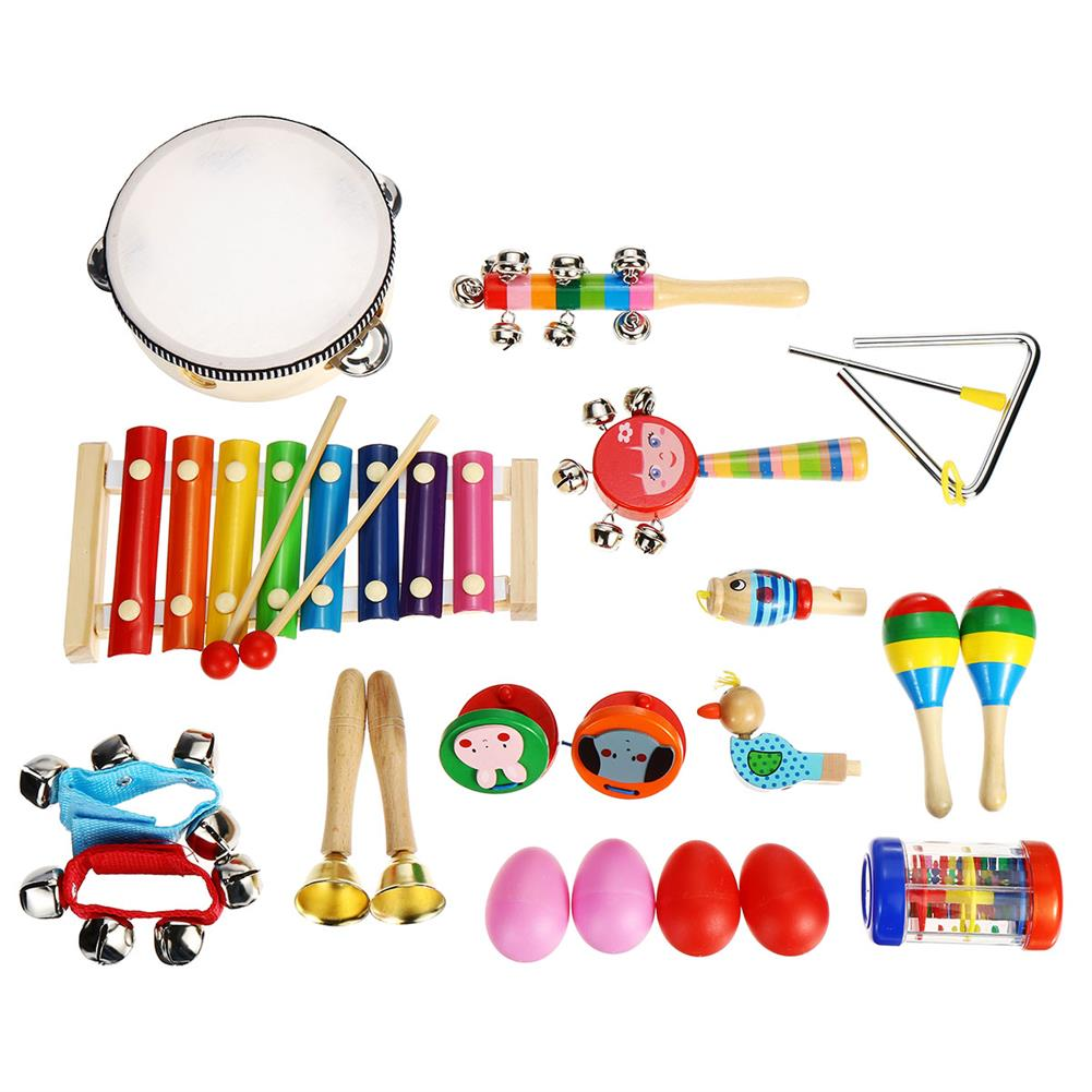 orff-instruments 24Pcs/Set Baby Boy Girl Musical Orff instruments Kit Percussion Children Toy Gifts HOB1677641