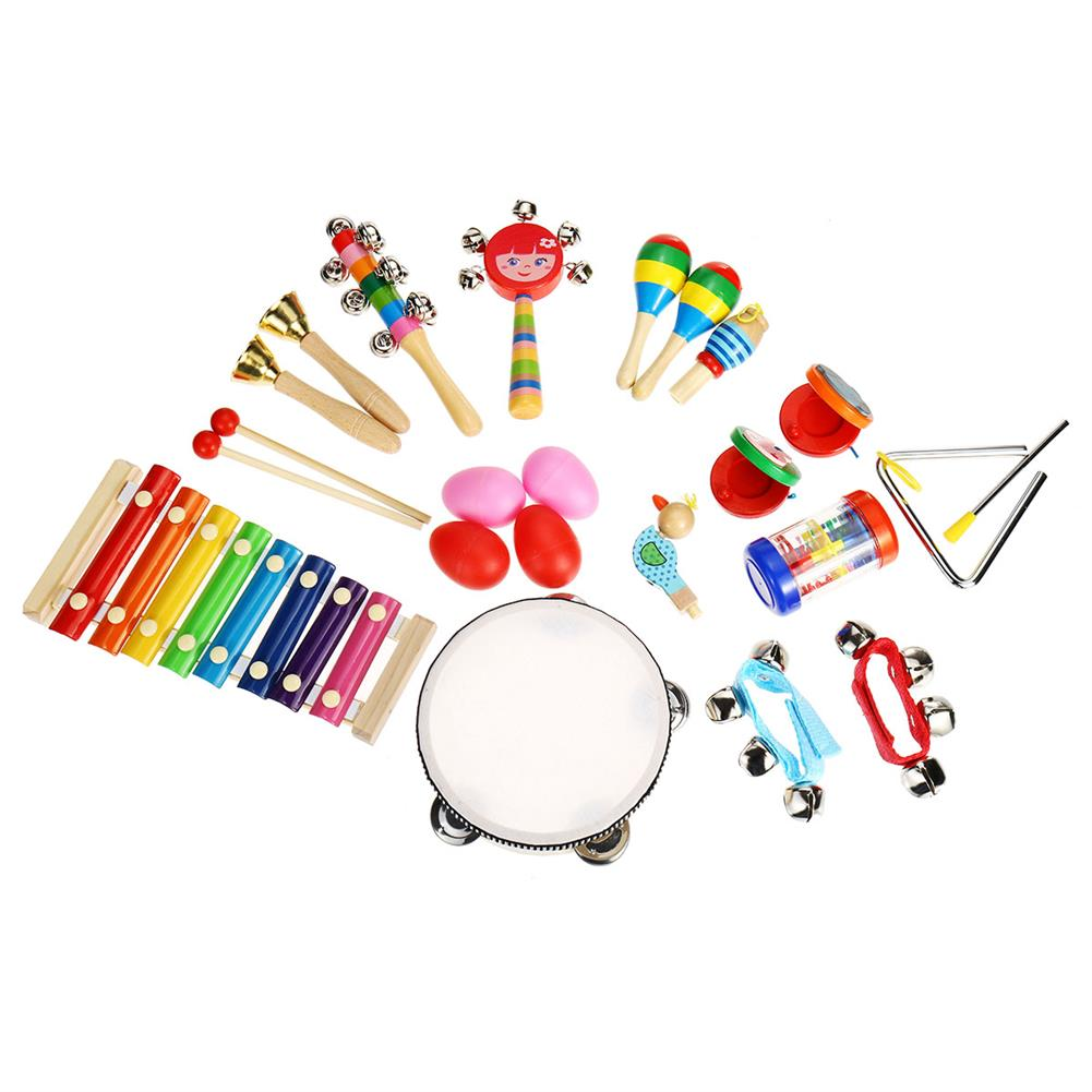 orff-instruments 24Pcs/Set Baby Boy Girl Musical Orff instruments Kit Percussion Children Toy Gifts HOB1677641 1