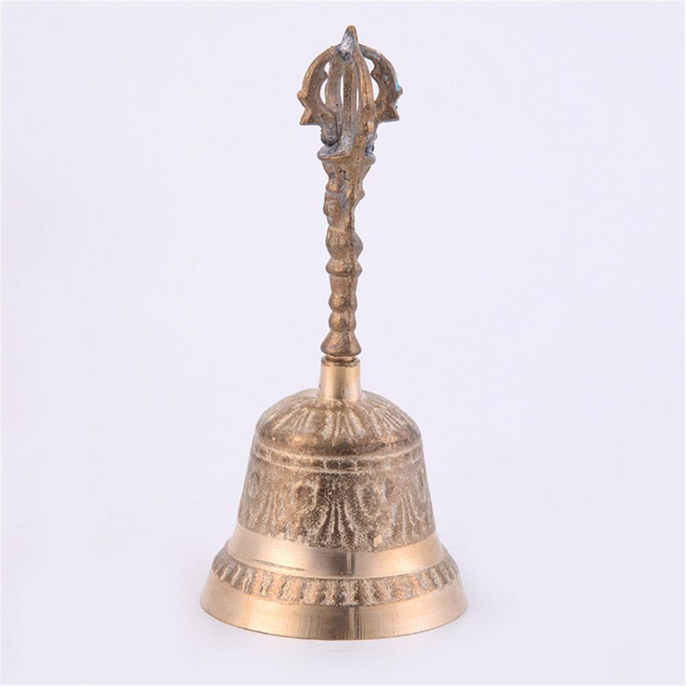 folk-world-percussion 5 Sizes Gold Copper Handheld Bells Zen Spiritual Meditation Singing Brass Craft HOB1677650 2