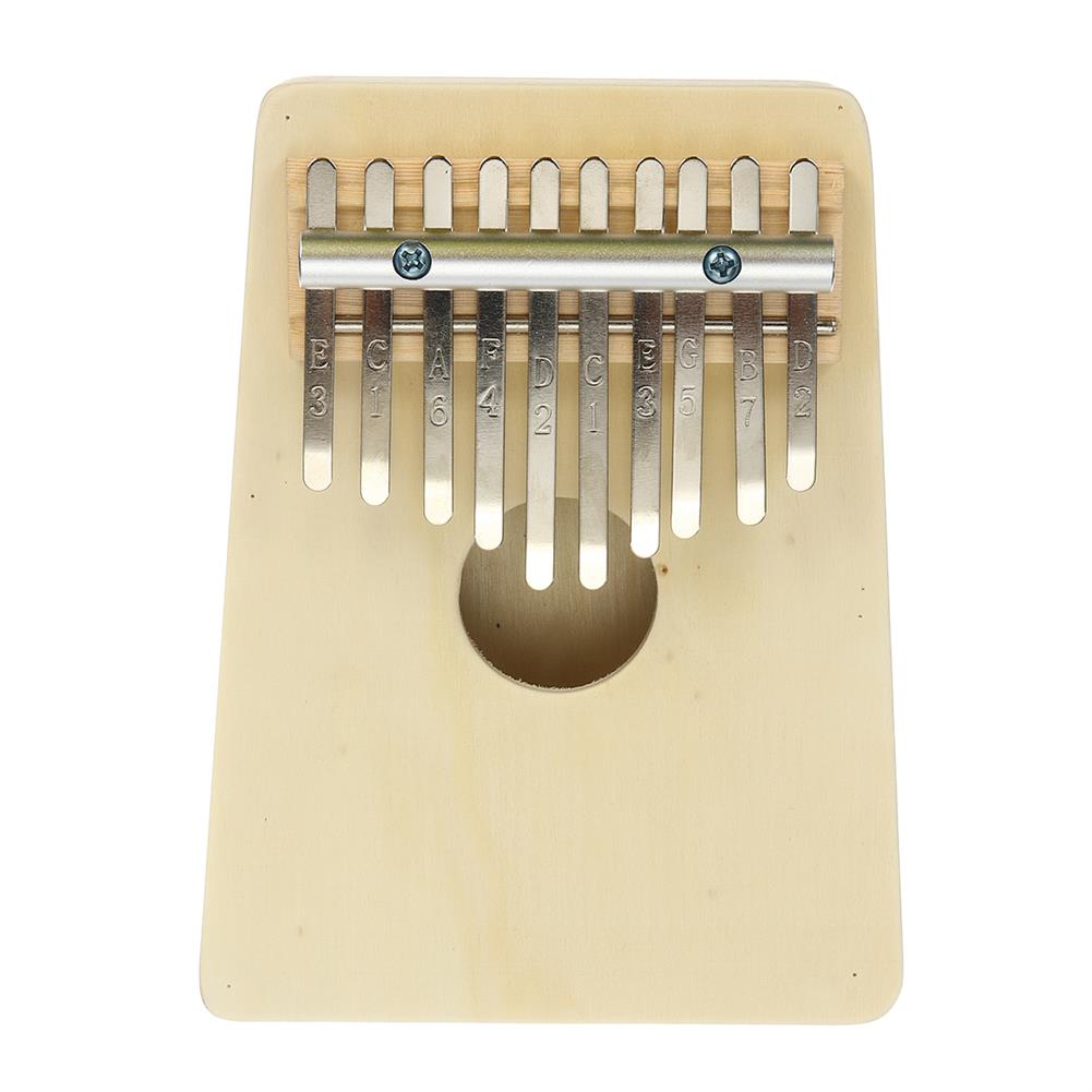 kalimba 10 Key Kalimbas Thumb Piano Finger Mbira Wood Keyboard Musical instrument W/Tremolo HOB1677685