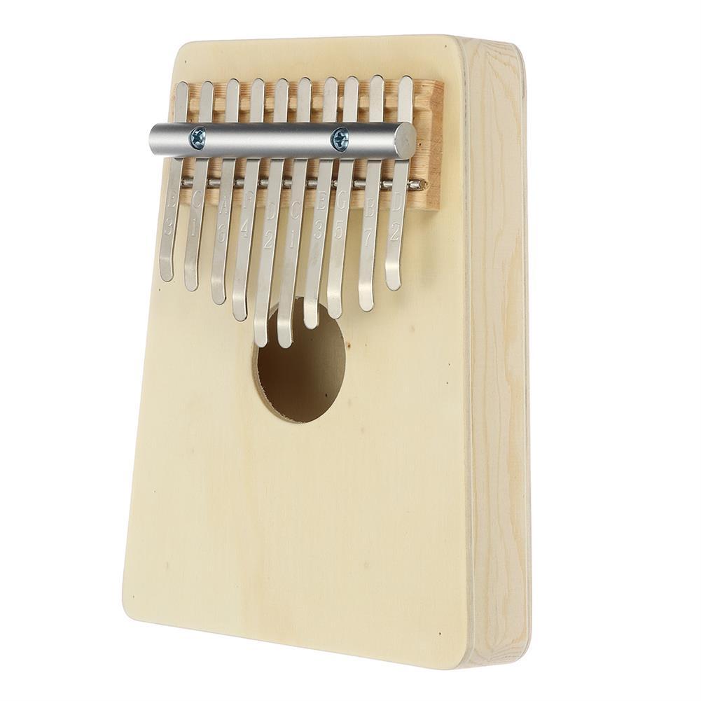 kalimba 10 Key Kalimbas Thumb Piano Finger Mbira Wood Keyboard Musical instrument W/Tremolo HOB1677685 1