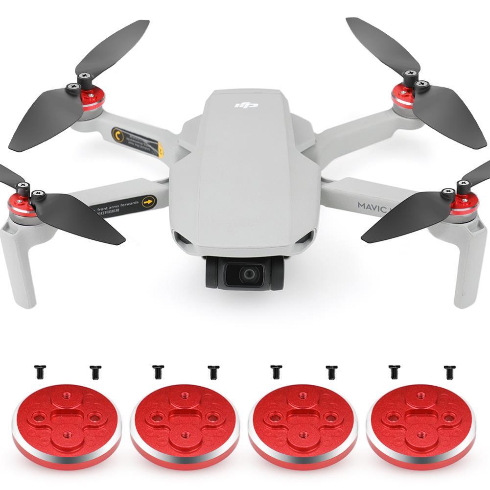 rc-quadcopter-parts New Upgrade Motor Cover Aluminum Alloy Engine Protective Cover 4Pcs for DJI Mavic Mini RC Drone HOB1678018