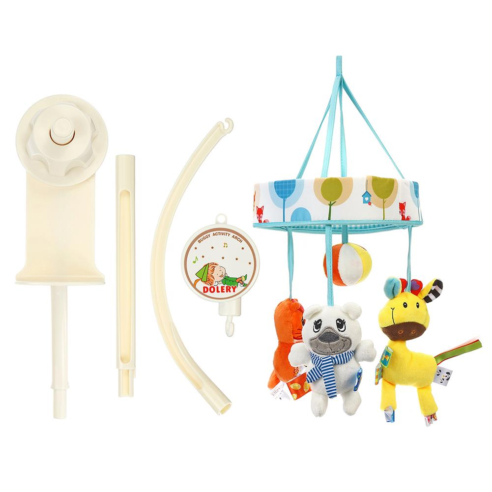 orff-instruments Baby Crib Mobile Bed Bell Holder Toy Arm Bracket Wind-up Music Box HOB1678164 1