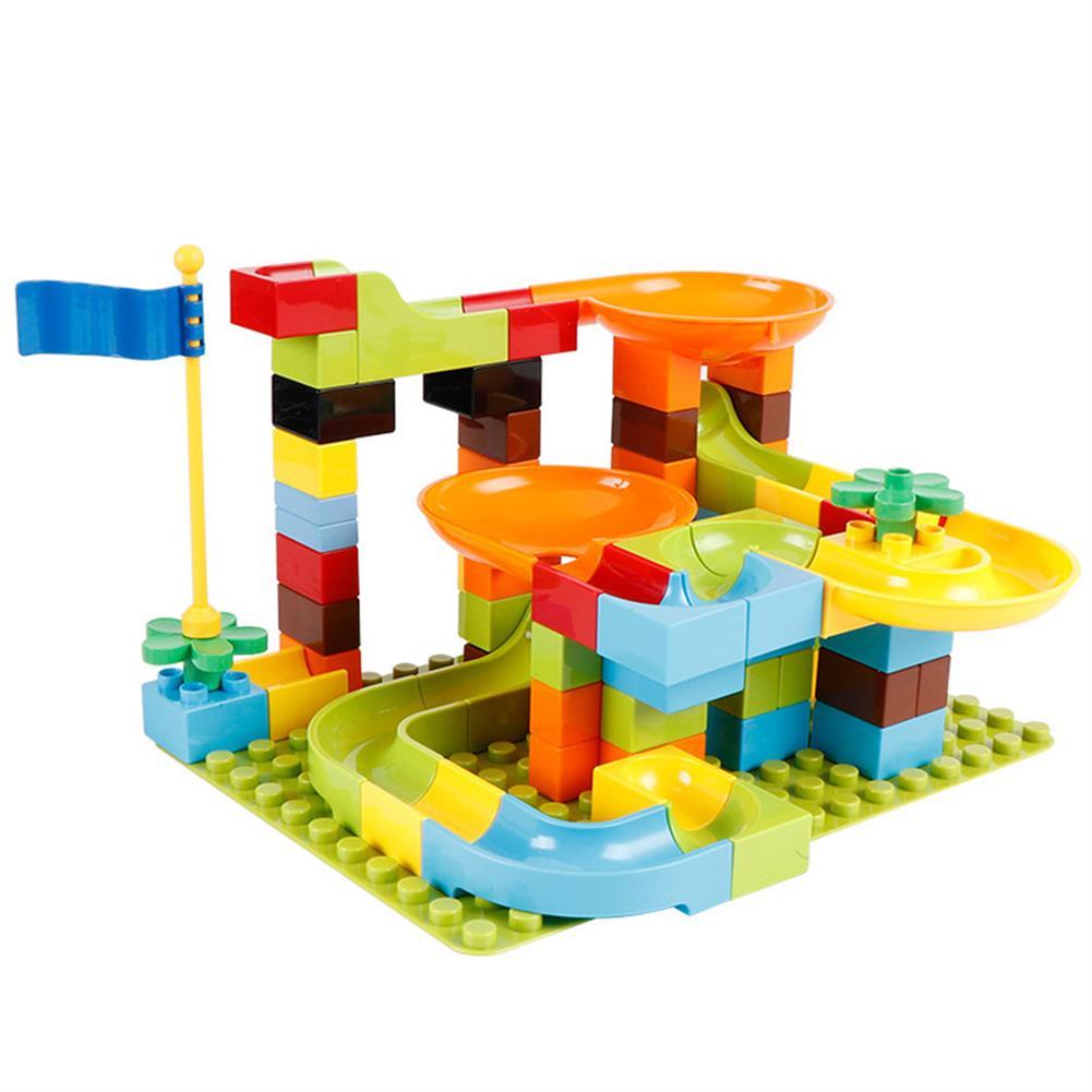 blocks-track-toys 80/81/160Pcs DIY Assembly Kids Game Play Building Blocks Toys for Kids Gift HOB1678176