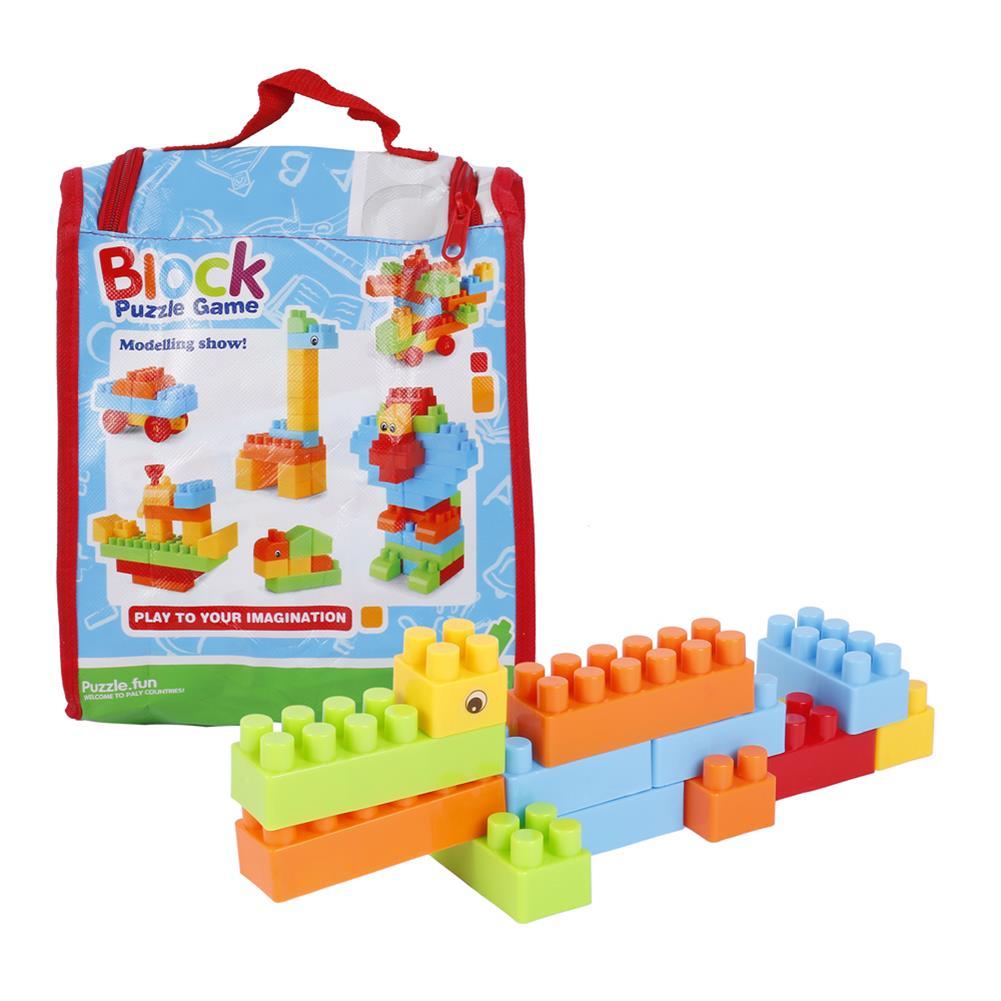 blocks-track-toys Goldkids HJ-3806D 88PCS Multi-style DIY Assembly Play & Learning Blocks Toys for Kids Gift HOB1678193
