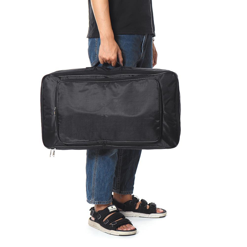 guitar-accessories 60CM Black Universal Portable Guitar Pedal Board Pedalboard DIY Bag HOB1678258