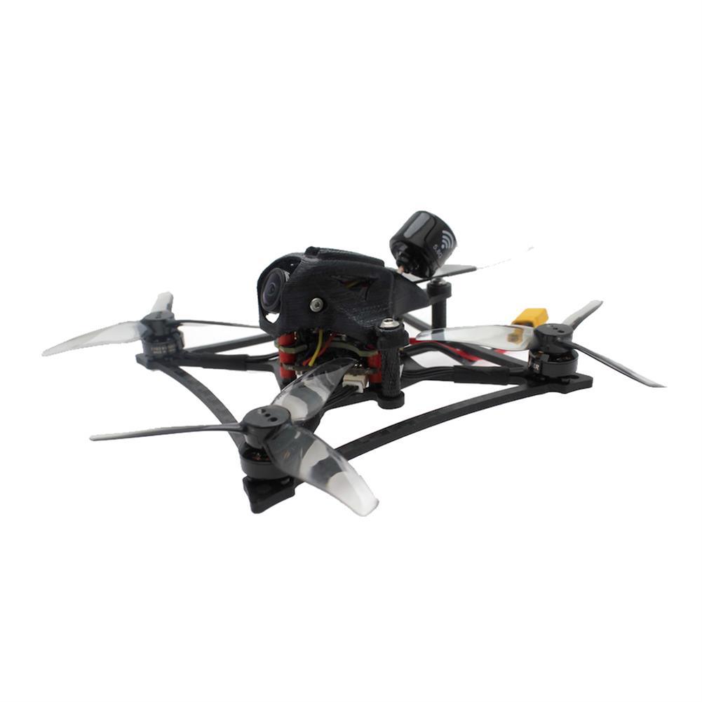 fpv-racing-drone HBFPV RF3 120mm 3 inch 2-3S Toothpick FreeStyle FPV Racing Drone PNP/BNF 1000mW VTX F4 FC OSD 20A ESC 1103 8000KV Motor HOB1678528 2