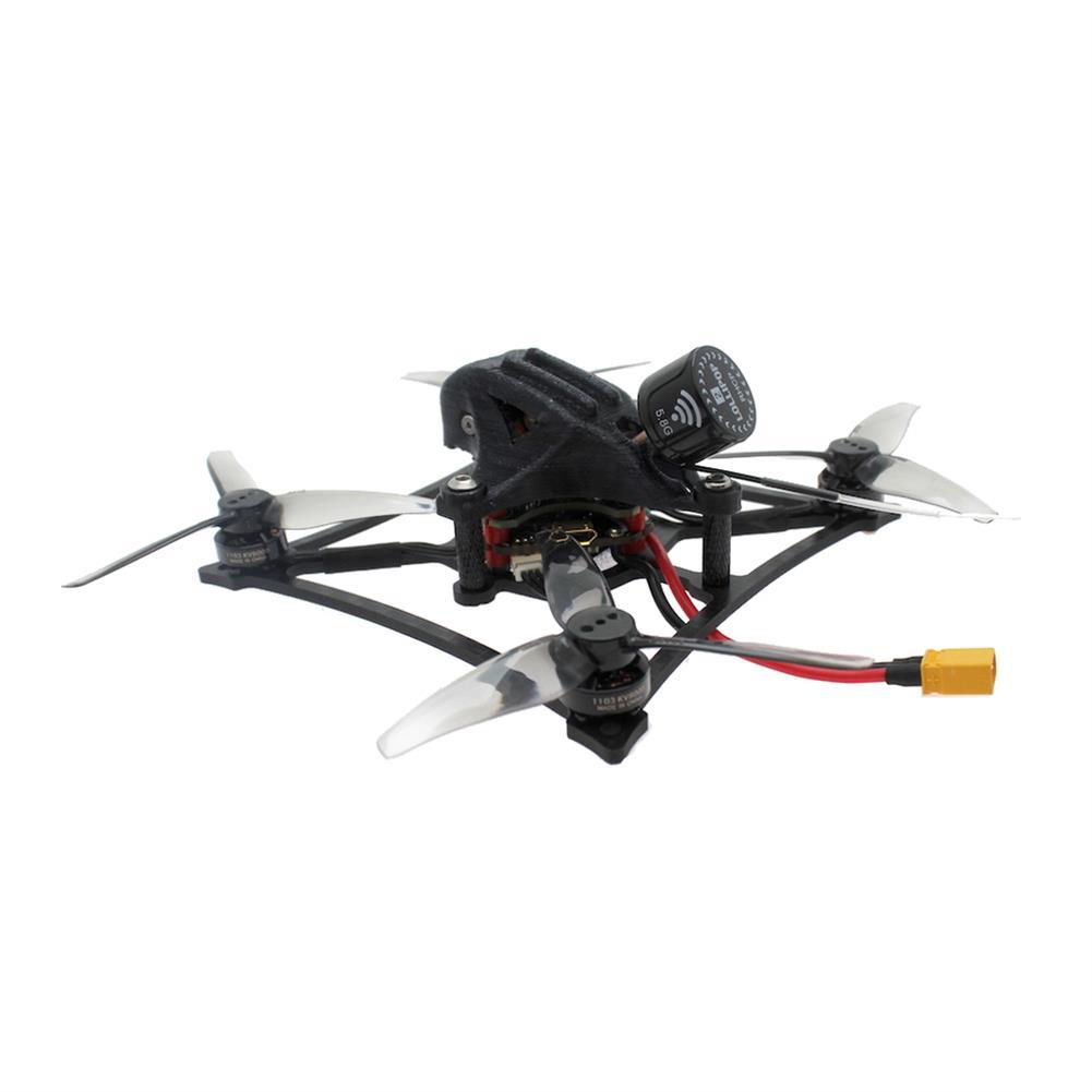 fpv-racing-drone HBFPV RF3 120mm 3 inch 2-3S Toothpick FreeStyle FPV Racing Drone PNP/BNF 1000mW VTX F4 FC OSD 20A ESC 1103 8000KV Motor HOB1678528 3