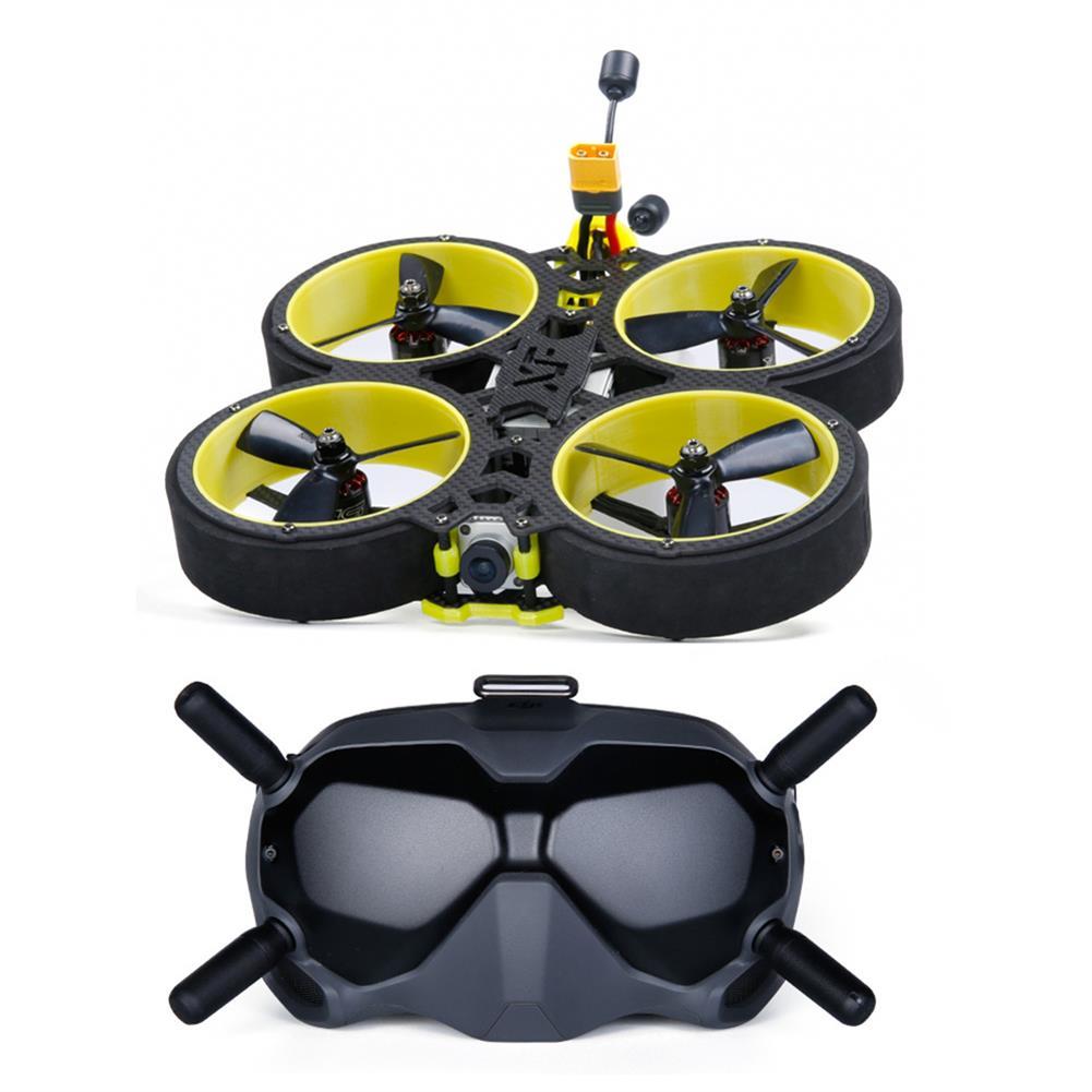fpv-racing-drone iFlight BumbleBee HD V3 4S 6S HD 3 inch CineWhoop FPV Racing Drone BNF w/ DJI FPV Air Unit DJI FPV Goggles HOB1678590