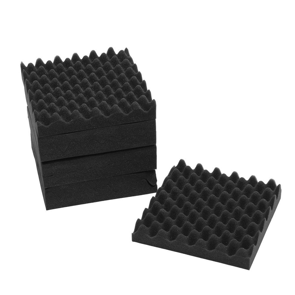 general-accessories 8PCS 12x12x2.5'' Acoustic Sound Studio Soundproof Foam Egg Crate Foam Wall Tile HOB1678806