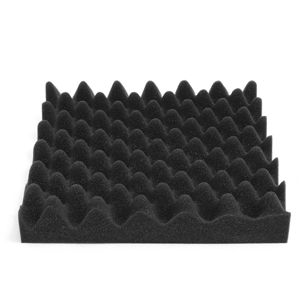 general-accessories 8PCS 12x12x2.5'' Acoustic Sound Studio Soundproof Foam Egg Crate Foam Wall Tile HOB1678806 1