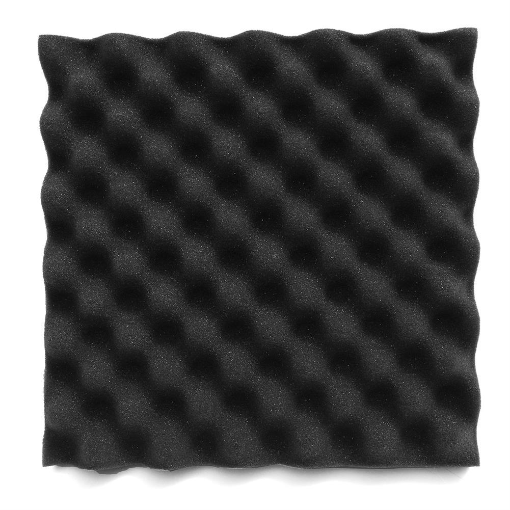 general-accessories 8PCS 12x12x2.5'' Acoustic Sound Studio Soundproof Foam Egg Crate Foam Wall Tile HOB1678806 3