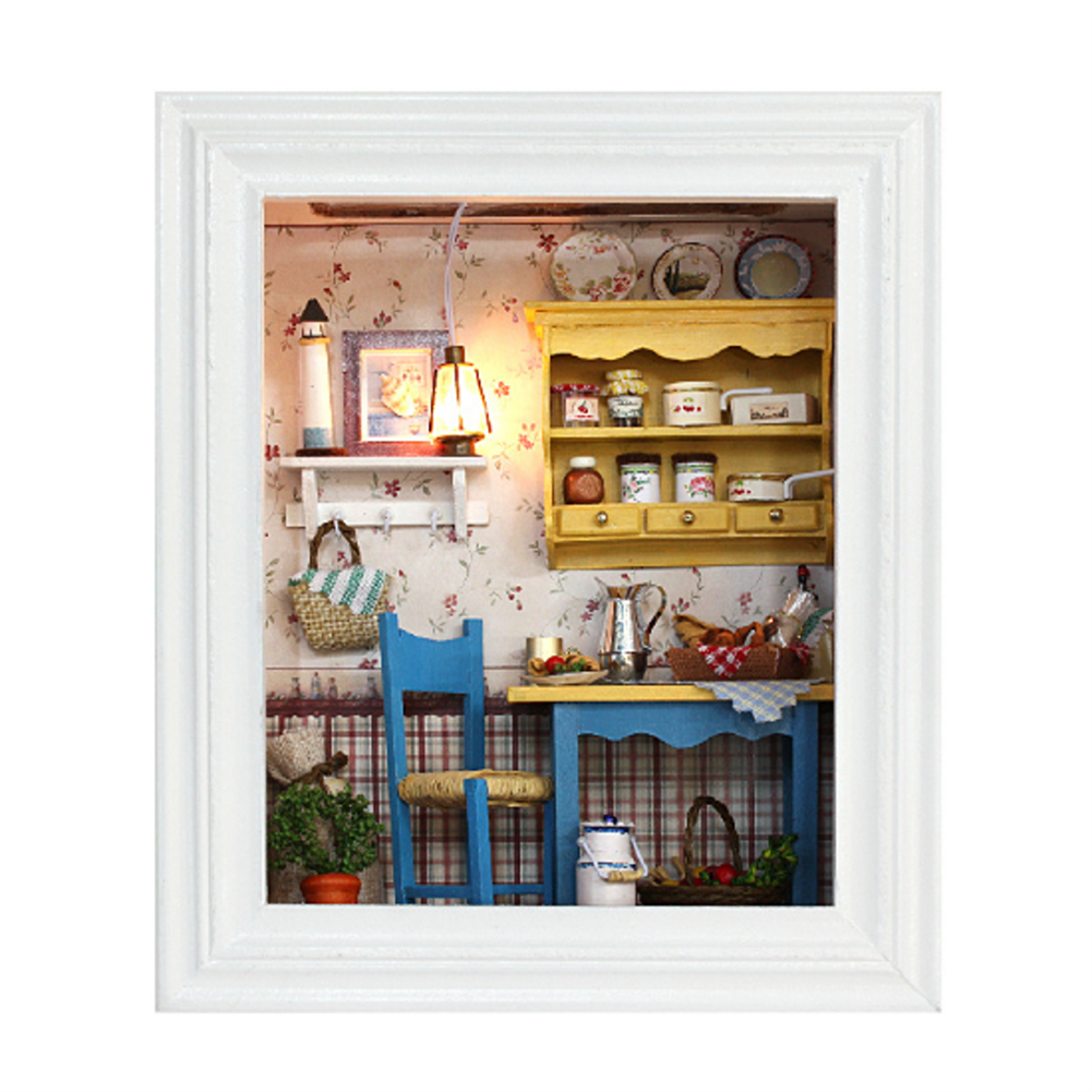 doll-house-miniature CUTEROOM DIY Doll House Cottage Long Holiday Series Toy Gift indoor Toys HOB1678812 1
