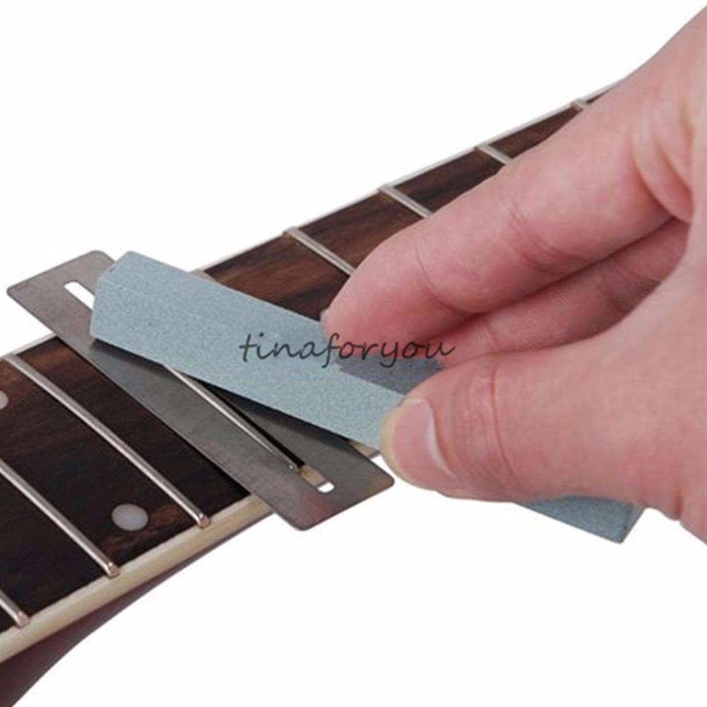 guitar-accessories 2pcs Guitar Fretboard Protector Fingerboard Guards with Sander Luthier Tool HOB1678919