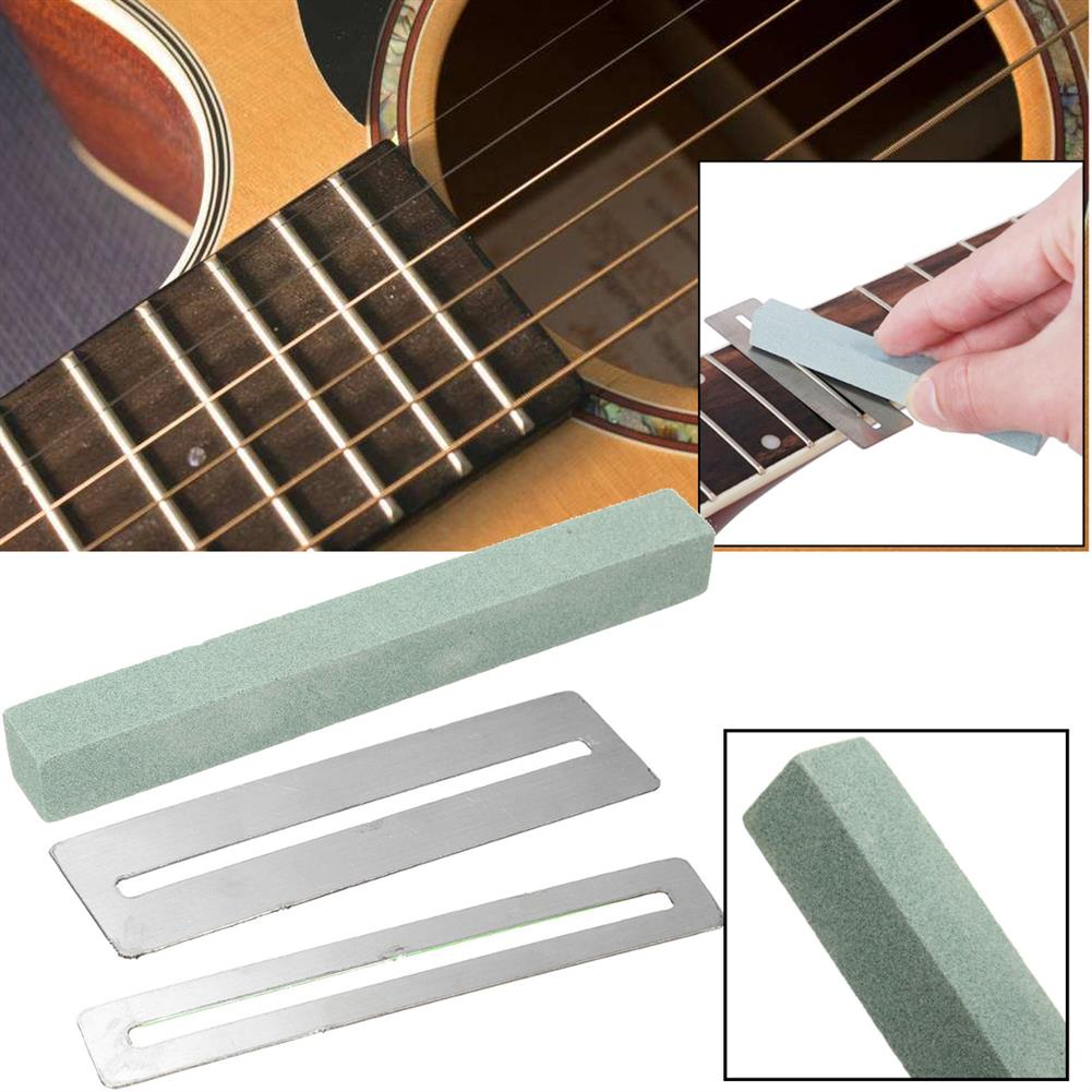 guitar-accessories 2pcs Guitar Fretboard Protector Fingerboard Guards with Sander Luthier Tool HOB1678919 1