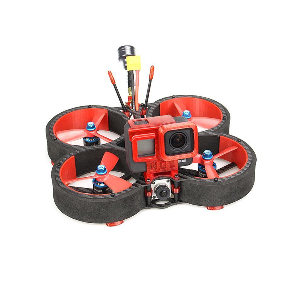 fpv-racing-drone HGLRC Veyron 3 HD 136mm F4 ZEUS 35A ESC 3 inch 4S / 6S Cinewhoop FPV Racing Drone PNP BNF w/ Caddx Vista HD Digital System HOB1679738 1