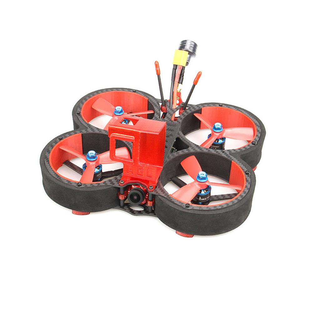 fpv-racing-drone HGLRC Veyron 3 136mm F4 ZEUS 35A ESC 3 inch 4S / 6S Cinewhoop FPV Racing Drone PNP BNF w/ Caddx Ratel 1200TVL Camera HOB1679767
