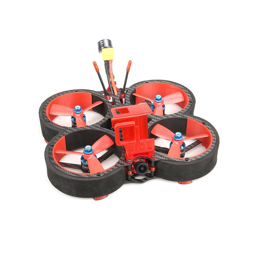 fpv-racing-drone HGLRC Veyron 3 136mm F4 ZEUS 35A ESC 3 inch 4S / 6S Cinewhoop FPV Racing Drone PNP BNF w/ Caddx Ratel 1200TVL Camera HOB1679767 1