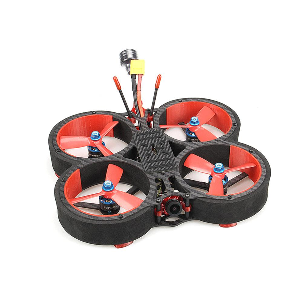 fpv-racing-drone HGLRC Veyron 3 136mm F4 ZEUS 35A ESC 3 inch 4S / 6S Cinewhoop FPV Racing Drone PNP BNF w/ Caddx Ratel 1200TVL Camera HOB1679767 2
