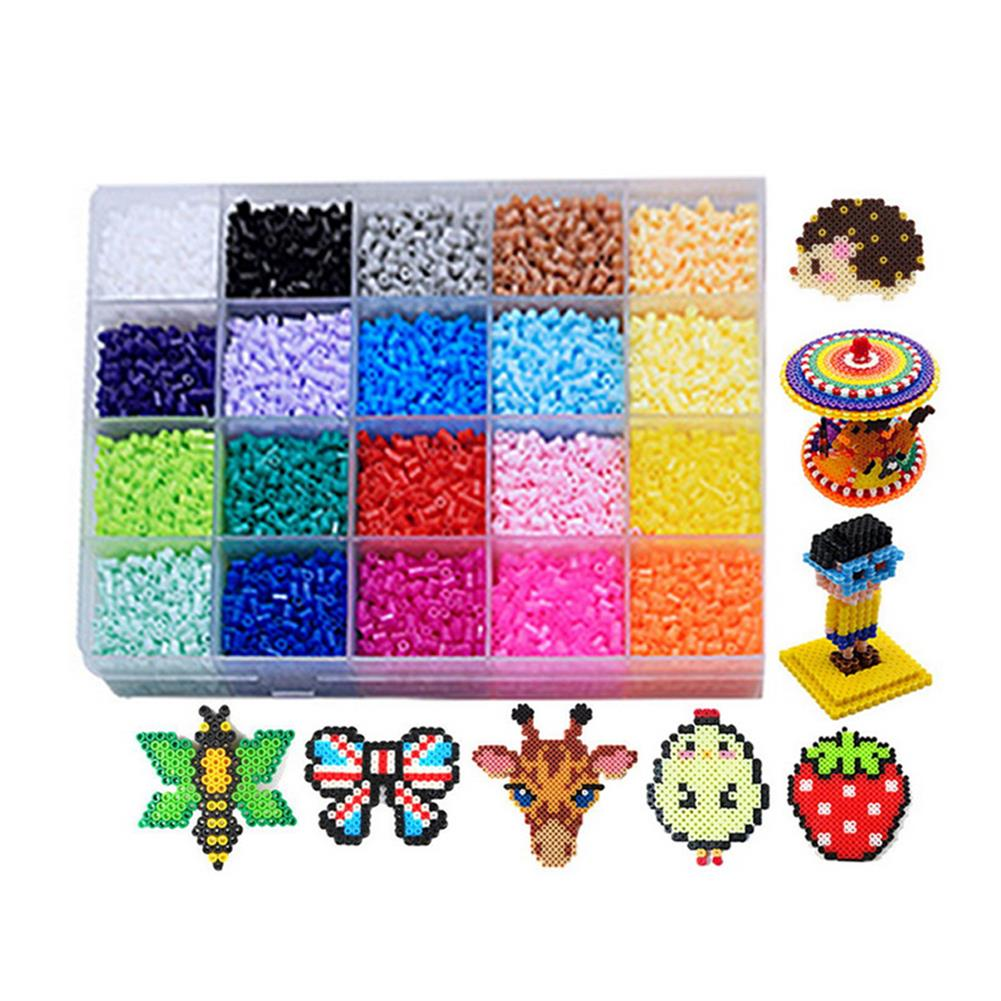 puzzle-game-toys 1 Set 2.6MM 20 Color Spelling Peas Template Set 3D DIY Puzzle Education Toys for Kids Gift HOB1680107