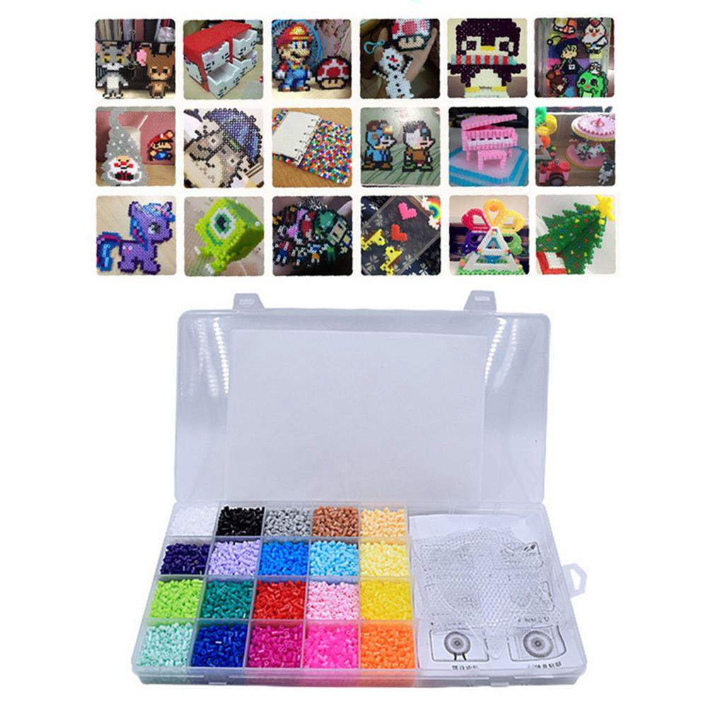puzzle-game-toys 1 Set 2.6MM 20 Color Spelling Peas Template Set 3D DIY Puzzle Education Toys for Kids Gift HOB1680107 1