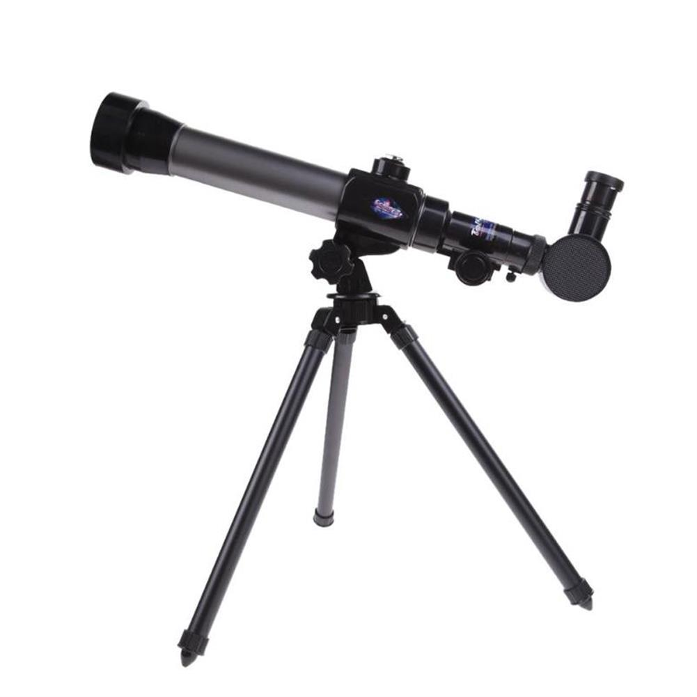 science-discovery-toys HD 20X 30X 40X Times Refractor Eyepiece Astronomical Telescope with Tripod Science Experiment Toys for Children Gift HOB1680199 1