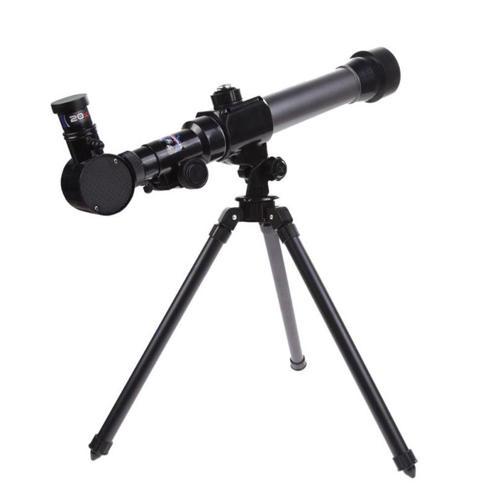 science-discovery-toys HD 20X 30X 40X Times Refractor Eyepiece Astronomical Telescope with Tripod Science Experiment Toys for Children Gift HOB1680199 3