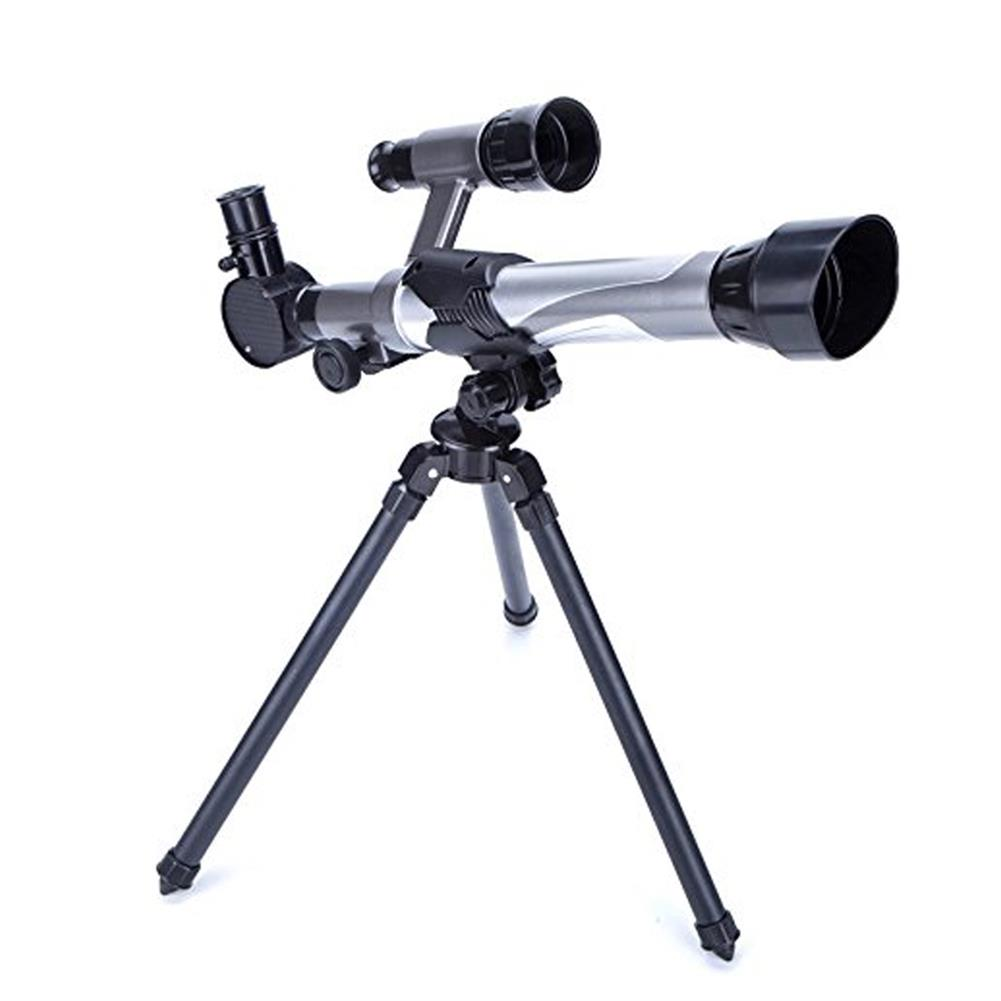 science-discovery-toys HD 20X 30X 40X Times Refractor Eyepiece Astronomical Telescope with Secondary Mirror and Tripod Science Experiment Toys for Children Gift HOB1680204 1