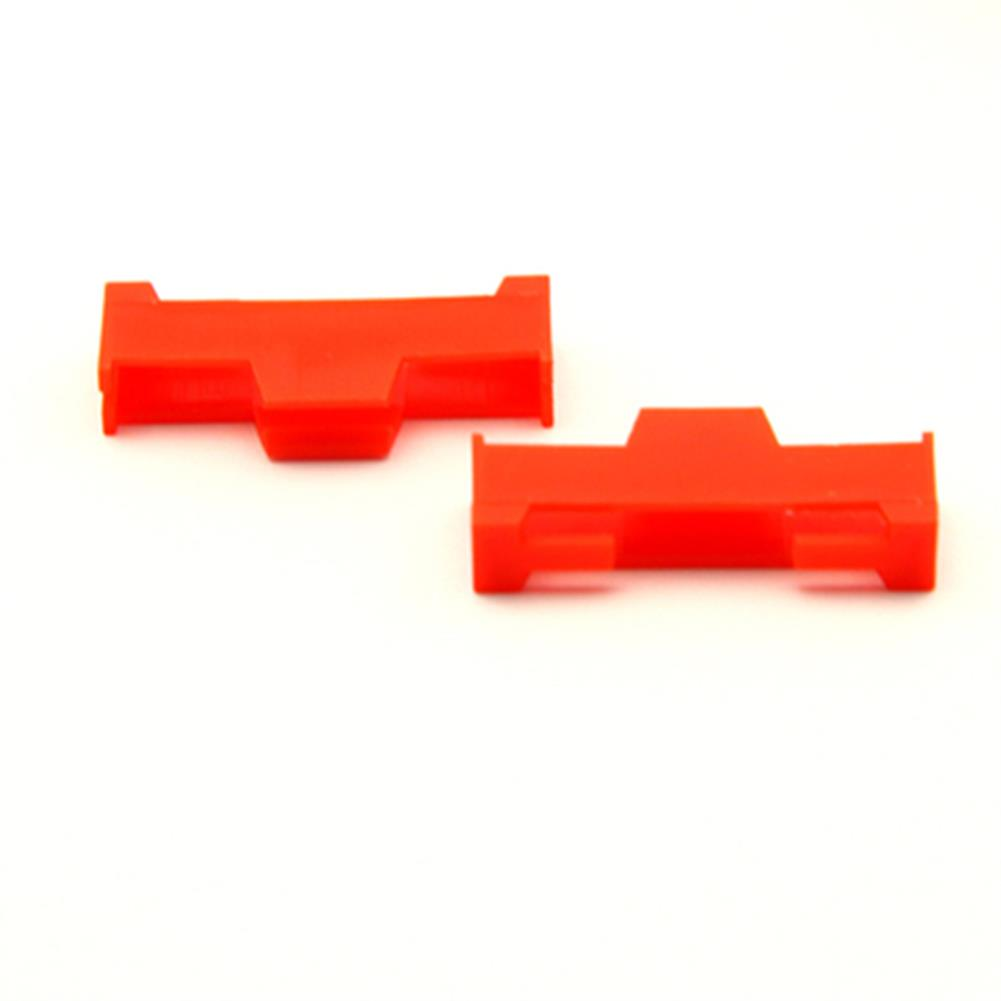 tools-bags-storage 20PCS URUAV Servo Extension Cable Buckle Clip Plastic Servos Cord Fastener Jointer Plugs Fixing Holder Colorful for DIY RC Airplane Parts HOB1680306 1