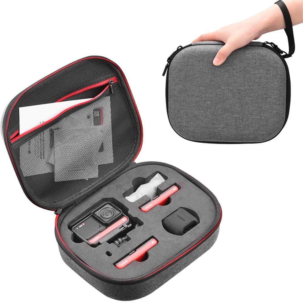 fpv-system insta360 ONE R Storage Bag Handbag Case Hard Cover Shell Carrying Box for insta360 ONE R 4K Wide Angle Camera Accessories HOB1680665