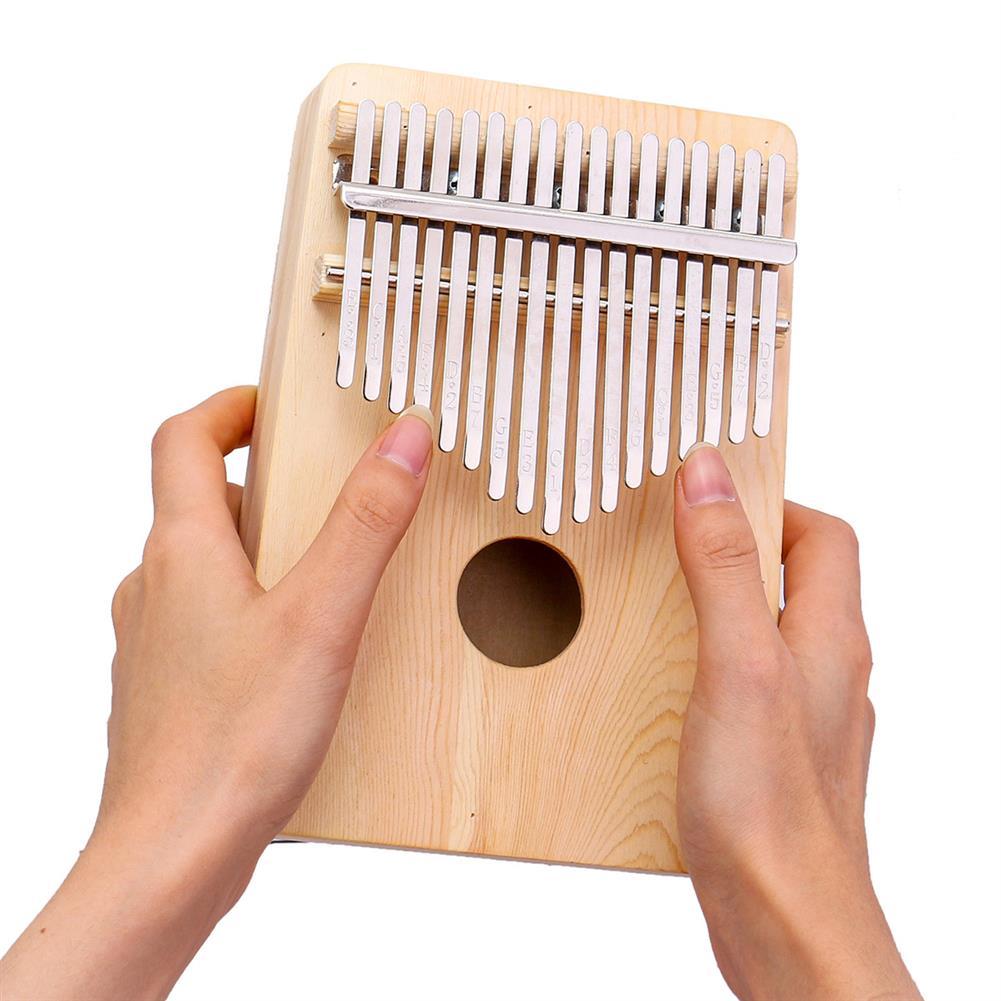kalimba 10/17 Keys Kalimbas Thumb Piano Solid Pine Plywood Wood Finger Percussion Gifts HOB1680684