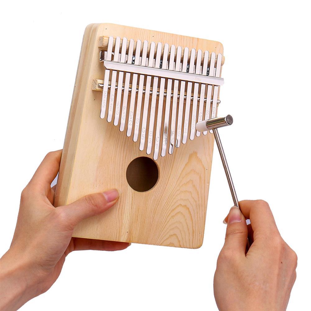 kalimba 10/17 Keys Kalimbas Thumb Piano Solid Pine Plywood Wood Finger Percussion Gifts HOB1680684 1