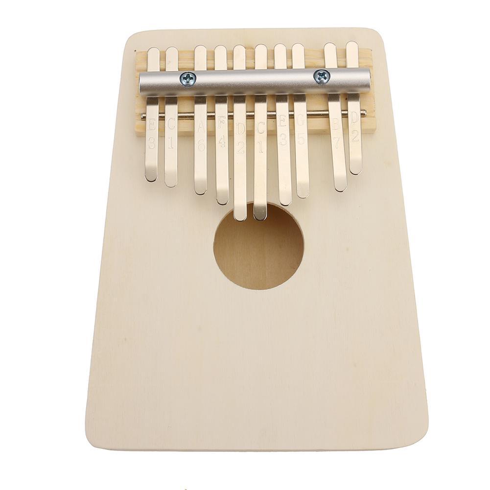 kalimba 10 Keys Kalimba Wood Thumb Piano Finger Keyboard Musical instrument w/Tuning Hammer HOB1680695 3