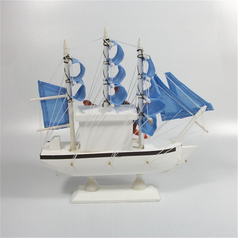 music-box Mediterranean Sailing Music Box Gifts for the New Year Creative Wooden Sailboat Craft Gift Souvenirs HOB1680746 1