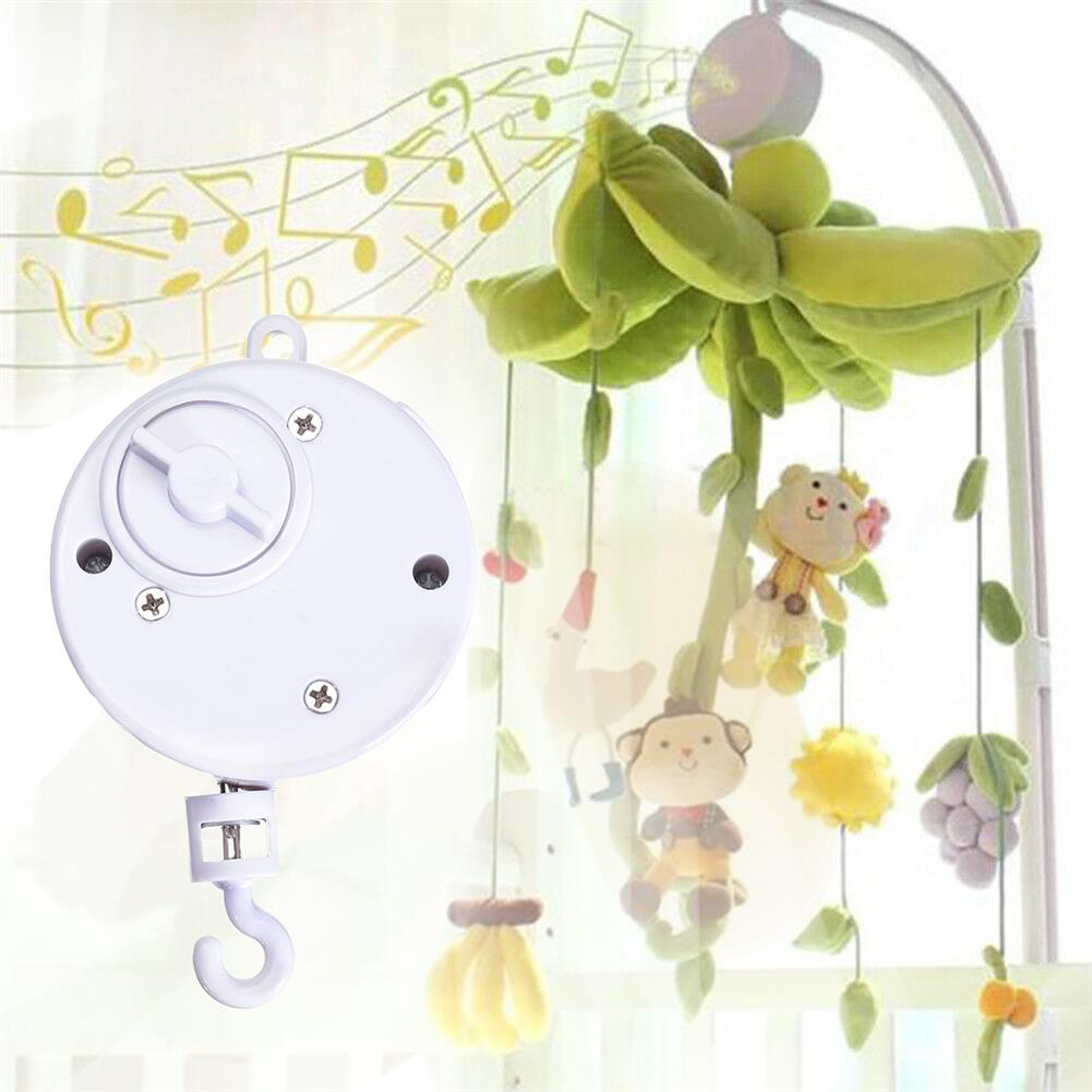 music-box Baby Crib Bed Hanging Bell Wind-up Rotating Music Box Kids Develop Toys Gift HOB1680818
