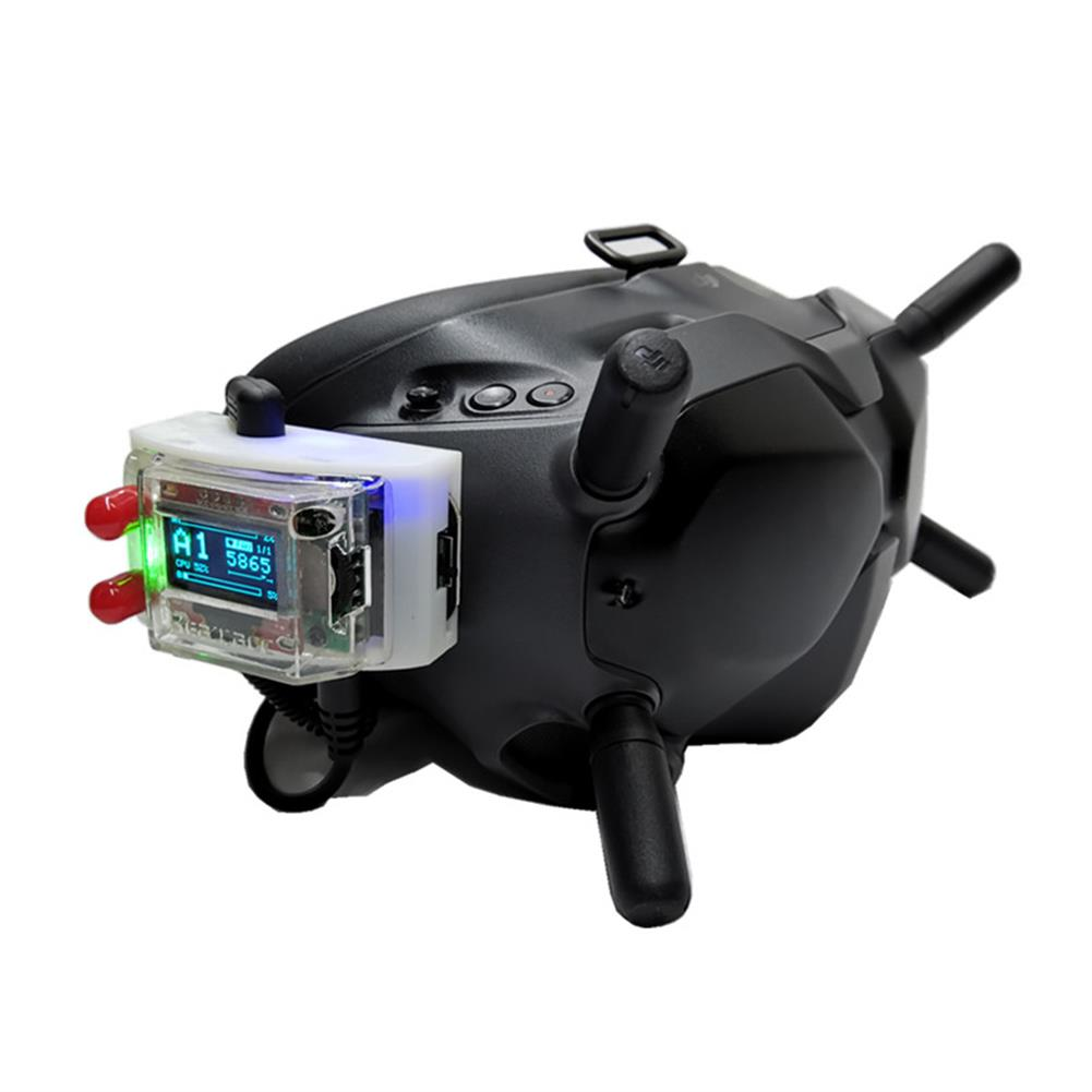 fpv-system URUAV V3.0 DJI Digital FPV Goggles Analog Receiver Adapter Mount Fixed Holder HOB1680907
