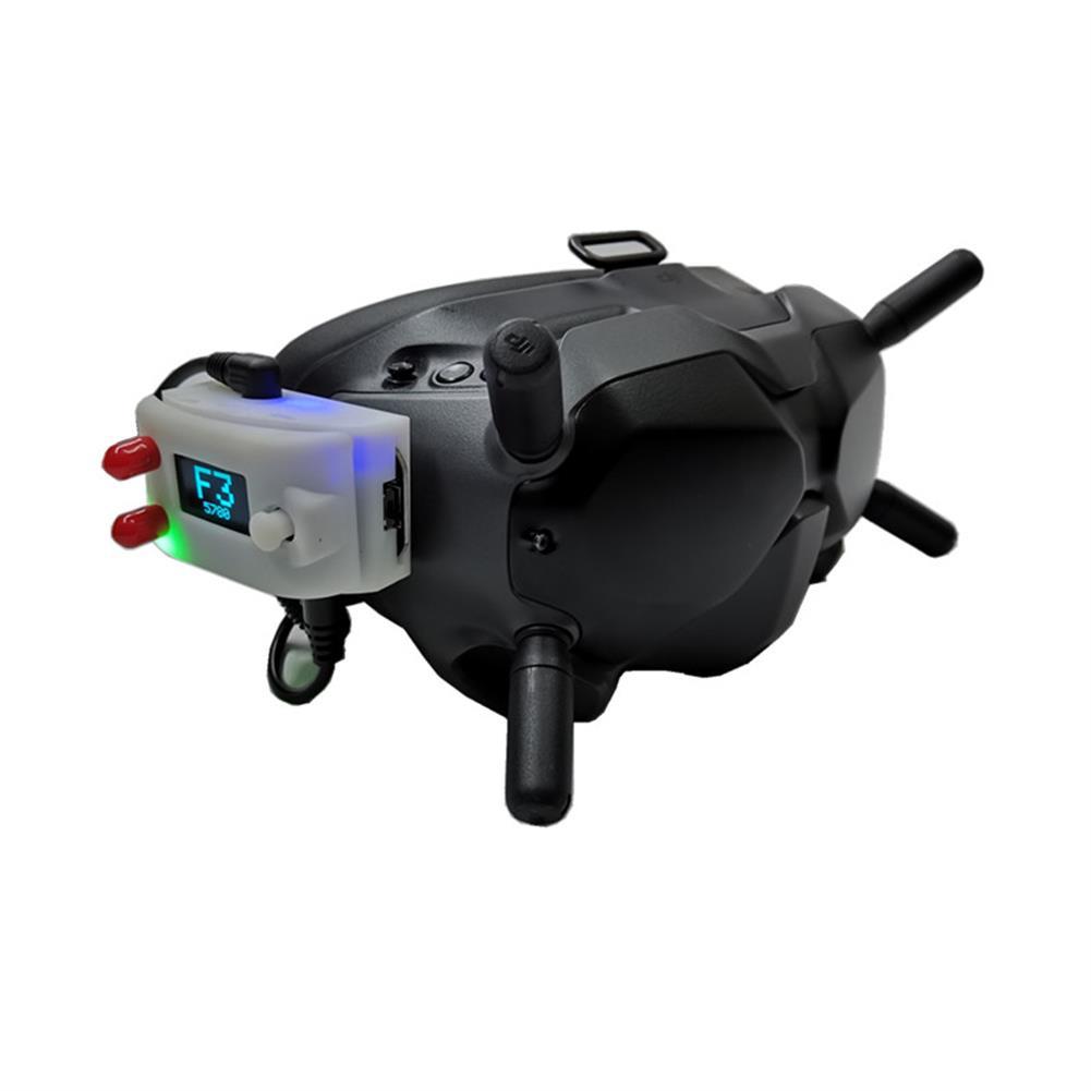 fpv-system URUAV V3.0 DJI Digital FPV Goggles Analog Receiver Adapter Mount Fixed Holder HOB1680907 1