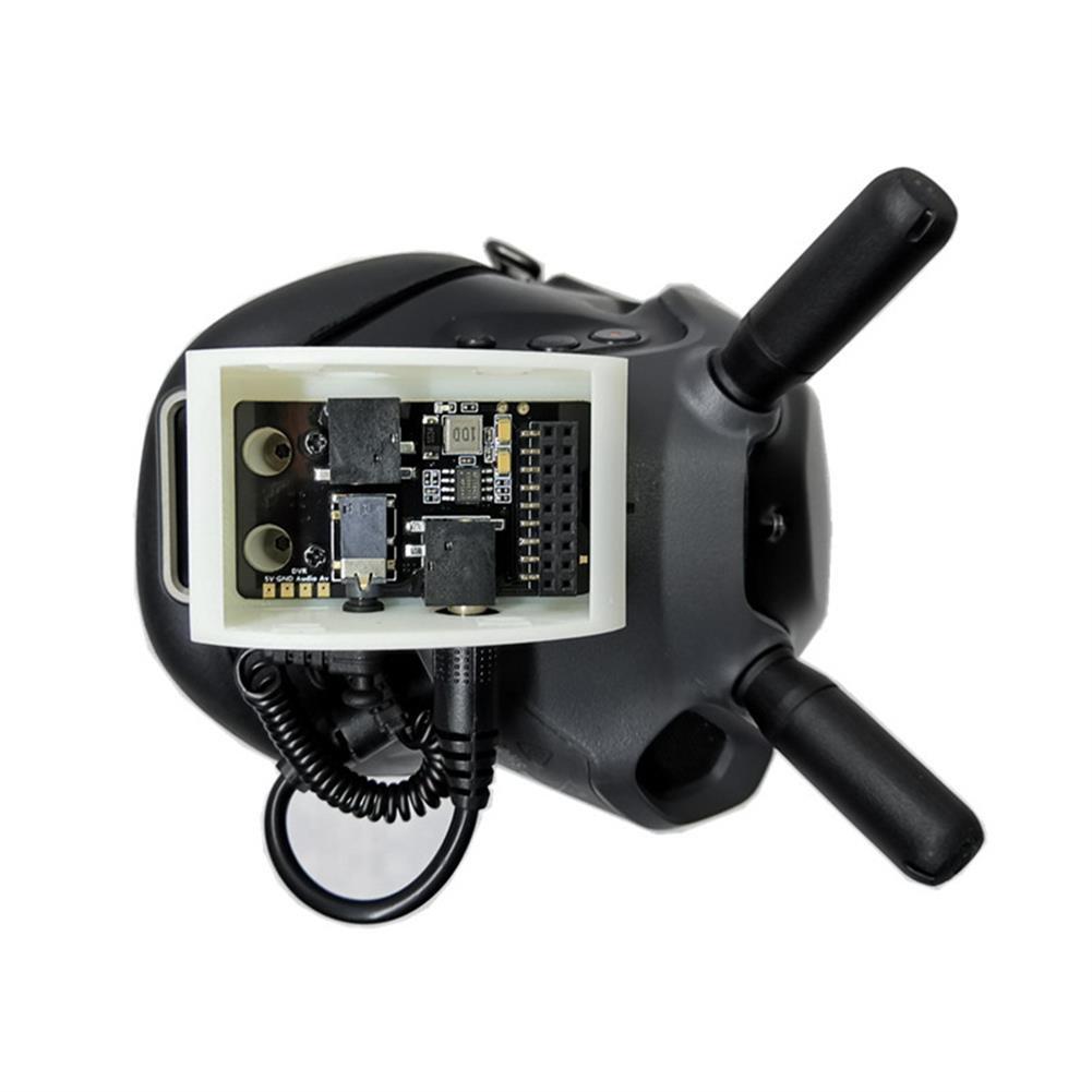 fpv-system URUAV V3.0 DJI Digital FPV Goggles Analog Receiver Adapter Mount Fixed Holder HOB1680907 2