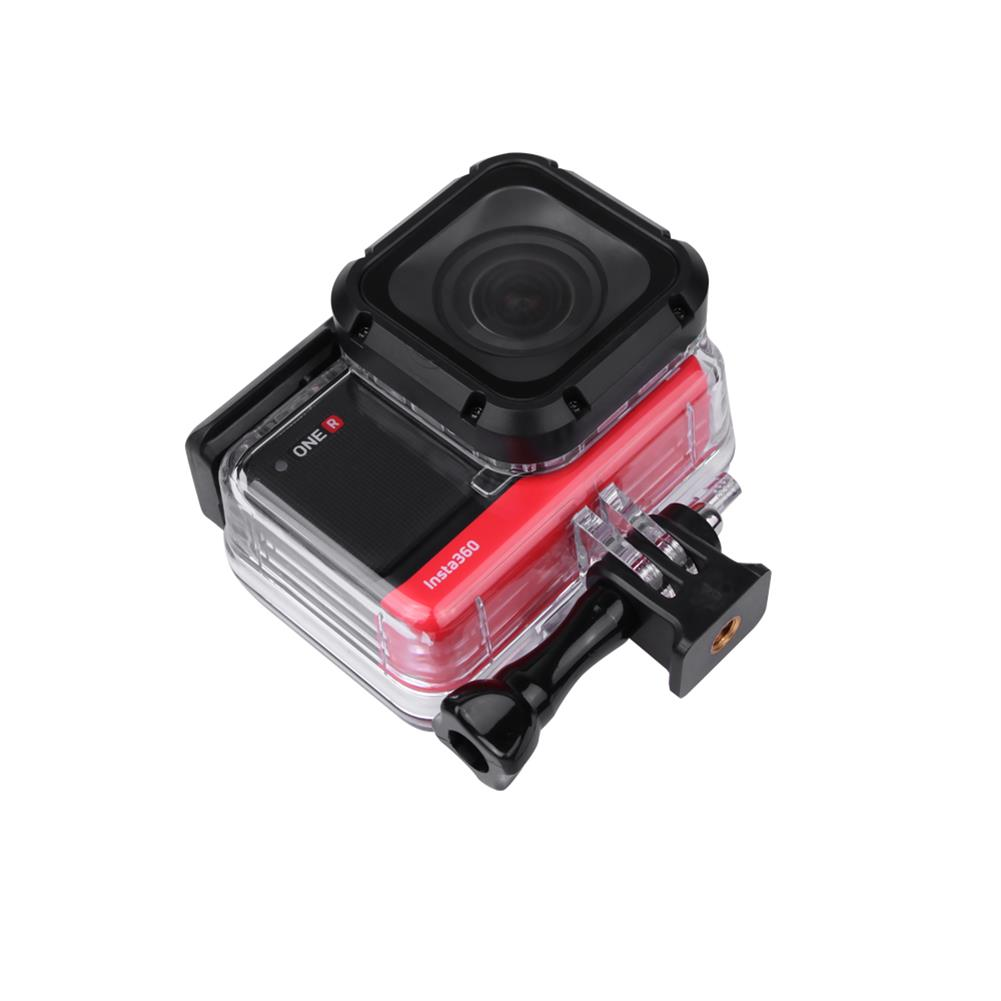 fpv-system insta360 one R Waterproof Protective Shell Case Diving Case 4K Edition 5.7K Dual-lens 360 Edition 1-inch Leicca Mod and Diving Filter Sports Camera Accessories HOB1681211