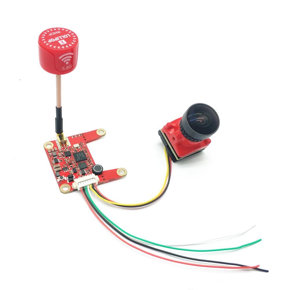 fpv-system E709TM3Pro 5.8G 25/200/500/800mW Switchable FPV Transmitter and 1200TVL HD Night Vision Camera Transmitter Combo HOB1681256