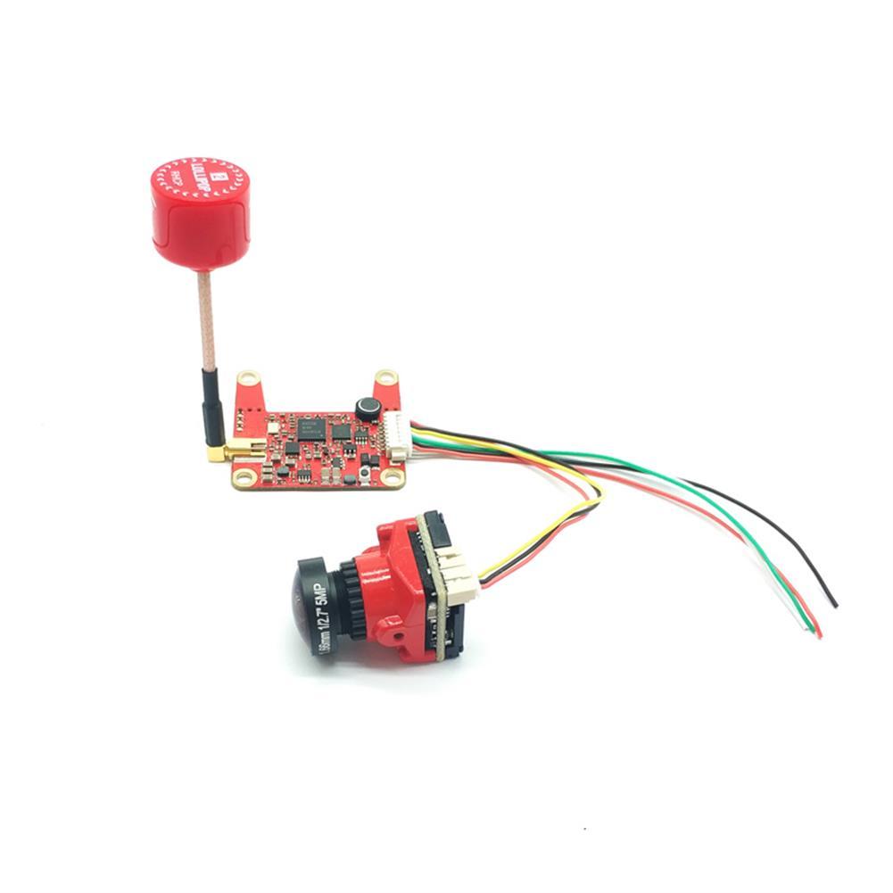 fpv-system E709TM3Pro 5.8G 25/200/500/800mW Switchable FPV Transmitter and 1200TVL HD Night Vision Camera Transmitter Combo HOB1681256 3
