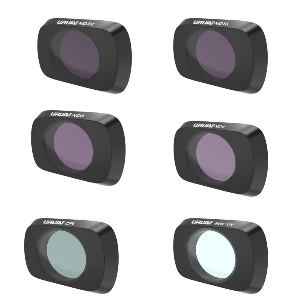 rc-quadcopter-parts URUAV Camera Lens Filter Combo Set UV/CPL/ND4/ND8/ND16/ND32/STAR/NDPL/Night for DJI Mavic Air 2 RC Drone HOB1681368 1