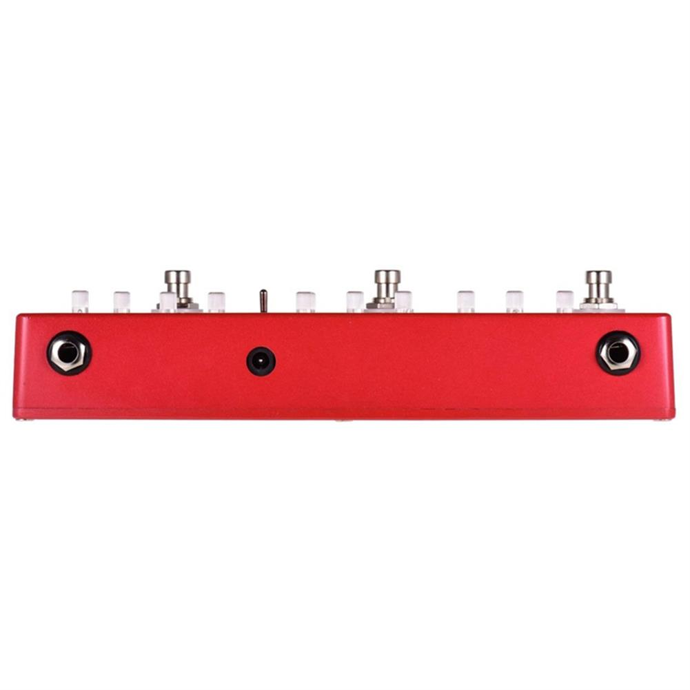 guitar-accessories MOSKY DC5 6-in-1 Guitar Effects Pedal Delay Chorus Distortion Overdrive Booster Buffer Full Metal Shell with True Bypass HOB1681529 2